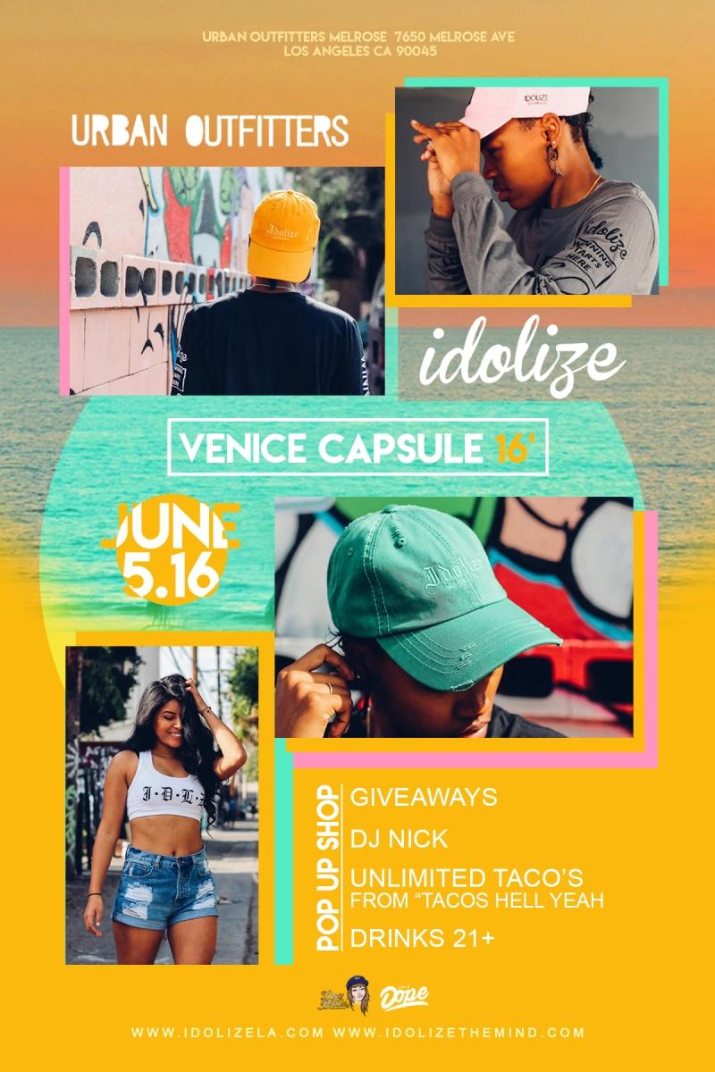 Idolize Vence 16 flyer